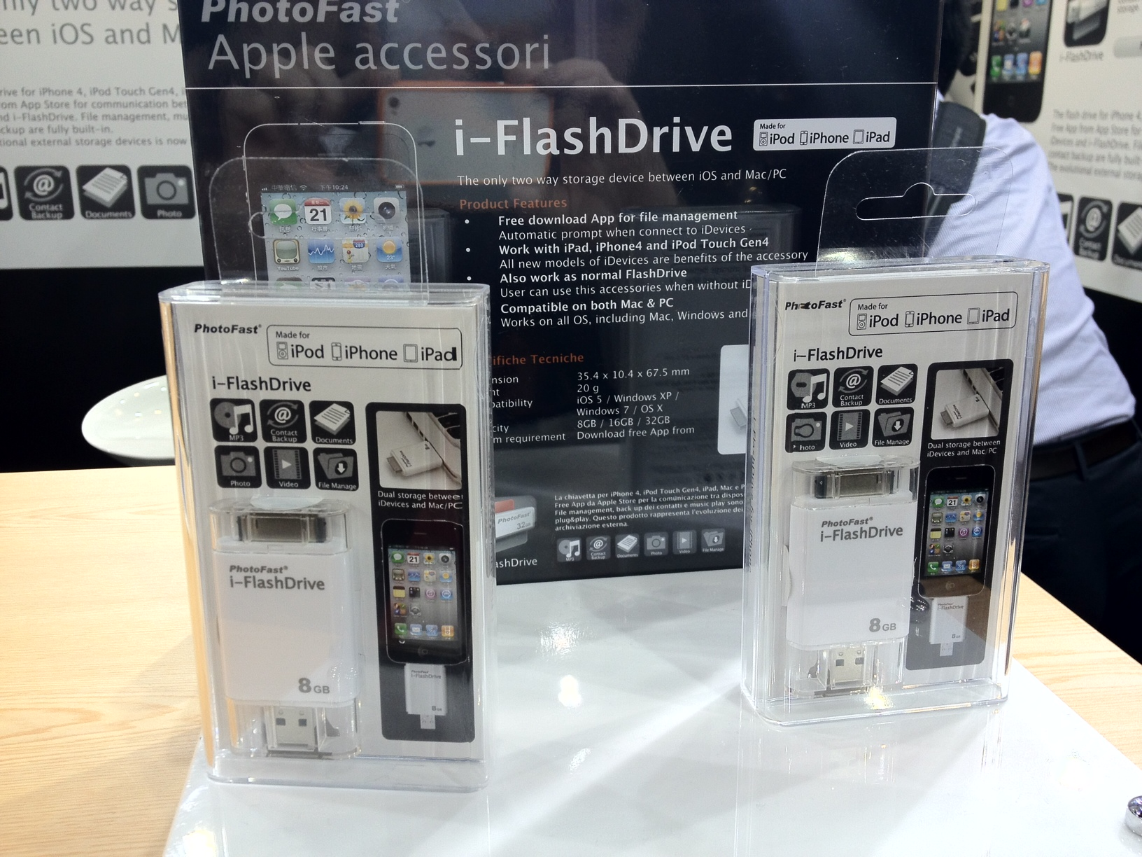 CES 2012: Browse Files On Your iPad With The PhotoFast i-FlashDrive