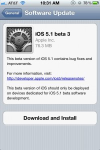 The Latest iOS 5.1 Beta Is Out, Bringing 3G Toggle Back