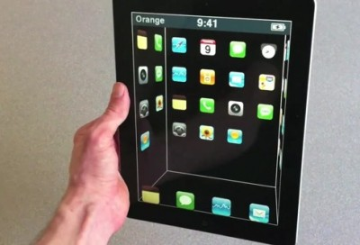 """Patently Apple Outs New """"Virtual"""" 3D Mobile Interface"""