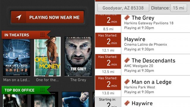 The Moviefone Movies App For iPhone Goes Through A Well Needed Renovation