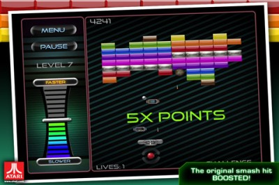 Atari Releases Breakout: Boost+ With 100 New Levels