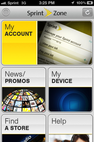 Sprint Releases Mobile Zone App In The App Store