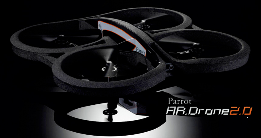 CES 2012: Parrot Reveals The Next Generation Of Their Augmented Reality Quadricopter