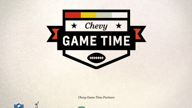 Chevy Game Time Offers Big Prizes For The Big Game