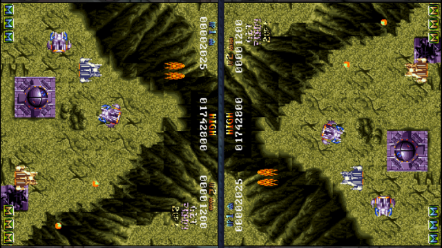 Battle Squadron Gets Two Player Split Screen Action