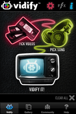 Make Professional Looking Music Videos In Three Simple Steps With Vidify