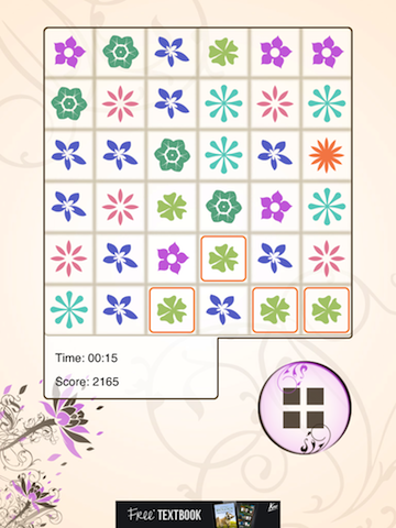 Play A Calming Game Of Match Three With Zen Lotus