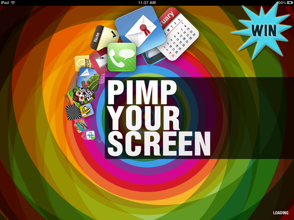 A Chance To Win Pimp Your Screen For iPhone And iPad