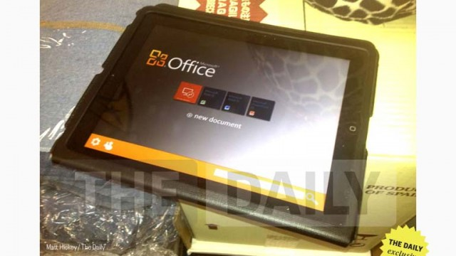 Updated: Microsoft Office For iPad Finally On Its Way? Not So, Says Microsoft!