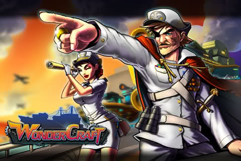 WonderCraft: Multiplayer Naval Combat Game For iOS