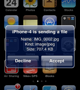 Jailbreak Only: AirBlue Brings Bluetooth File Sharing Capability To iPhone