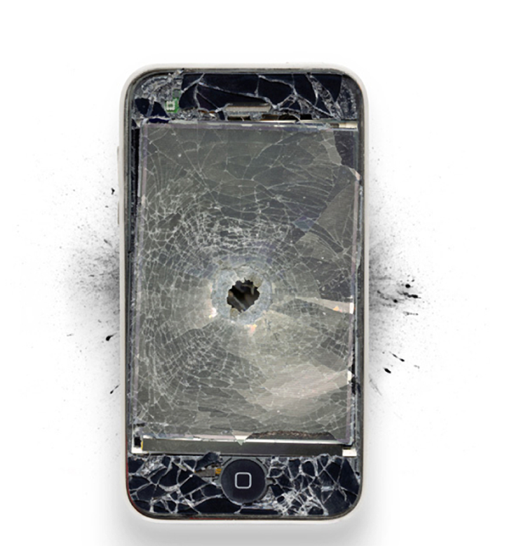 An iPhone Takes A Bullet And Saves Its Owners Life