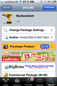 Jailbreak Only: MyAssistant (MySiri) - Now Available In The Cydia Store