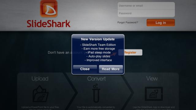 SlideShark iPad App Updated: Adds Support For SlideShark Team Edition