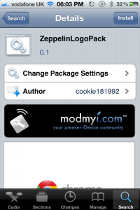 Jailbreak Only: ZeppelinLogoPack - Adds Even More Carrier Logos To The iPhone