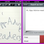 MyScript Memo Lets You Take And Send Handwritten Notes