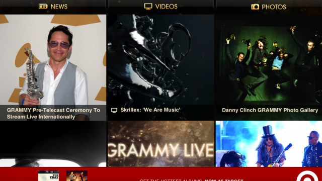New Grammy App Brings Three Days Worth Of Live Coverage To Your iDevice
