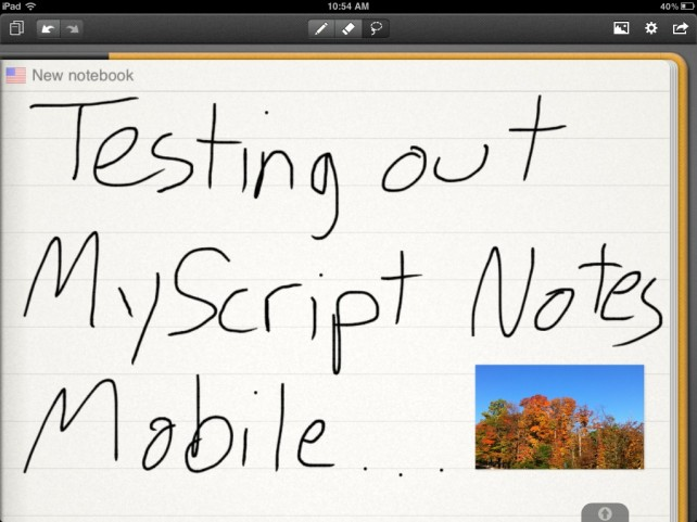 MyScript Notes Mobile Lets You Hand Write Notes And Share Them As Text