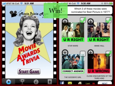 Win A Copy Of Movie Awards Trivia