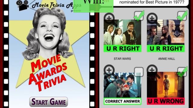 Win A Copy Of Movie Awards Trivia