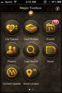 Magic: The Gathering Toolbox by Wizards of the Coast screenshot