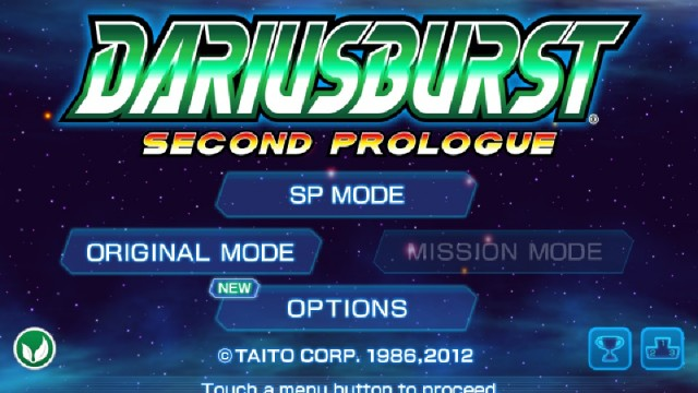 Blow Up Evil Mechanical Fish In DARIUSBURST SP