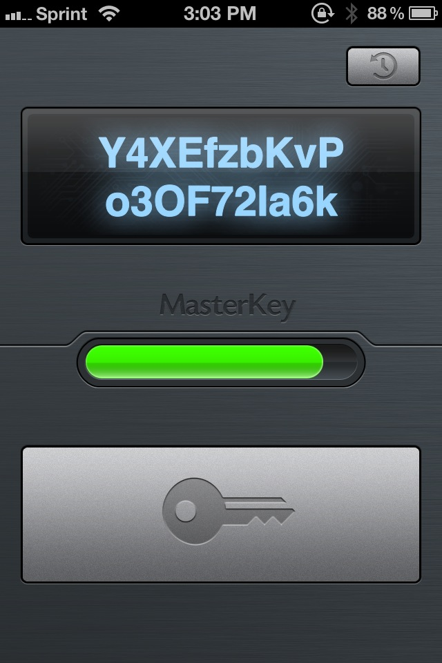 MasterKey Is A Beautiful Password Generator For Your iDevice