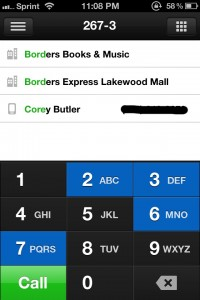 Buzz Contacts by App Savvy screenshot
