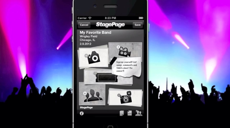 Upcoming App StagePage Will Be Your Virtual Concert Scrapbook