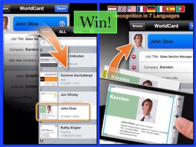 WorldCard Mobile and WorldCard HD Giveaway