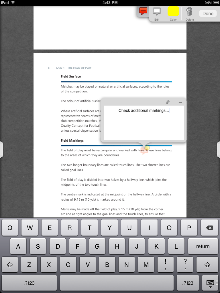 edit and annotate pdf documents