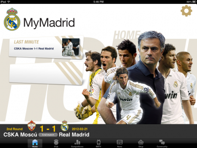 MyMadrid HD Is A Must Have App For Any Real Madrid Fan