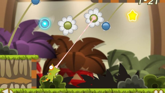 Become A Bug-Chewing Flower-Swinging Chameleon In Munch Time