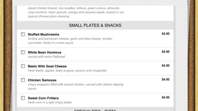 Take Menus On The Go With My Takeout Menu