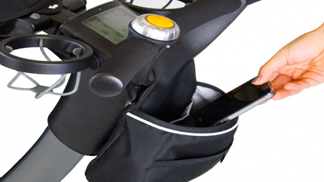 The Origami Stroller: It Charges Your iPhone And Much More