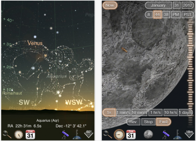 Luminos - Astronomy For iOS Updated: Now Supports iPhone, Plus Many New Features And Changes