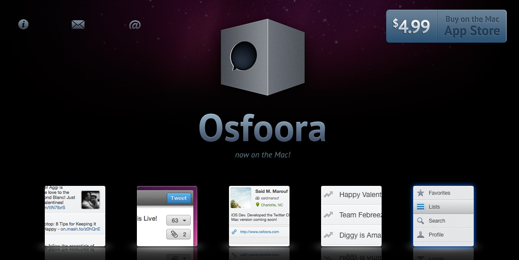 Osfoora Makes The Jump From iOS To Mac