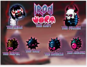 Ironworm by 10tons Ltd screenshot