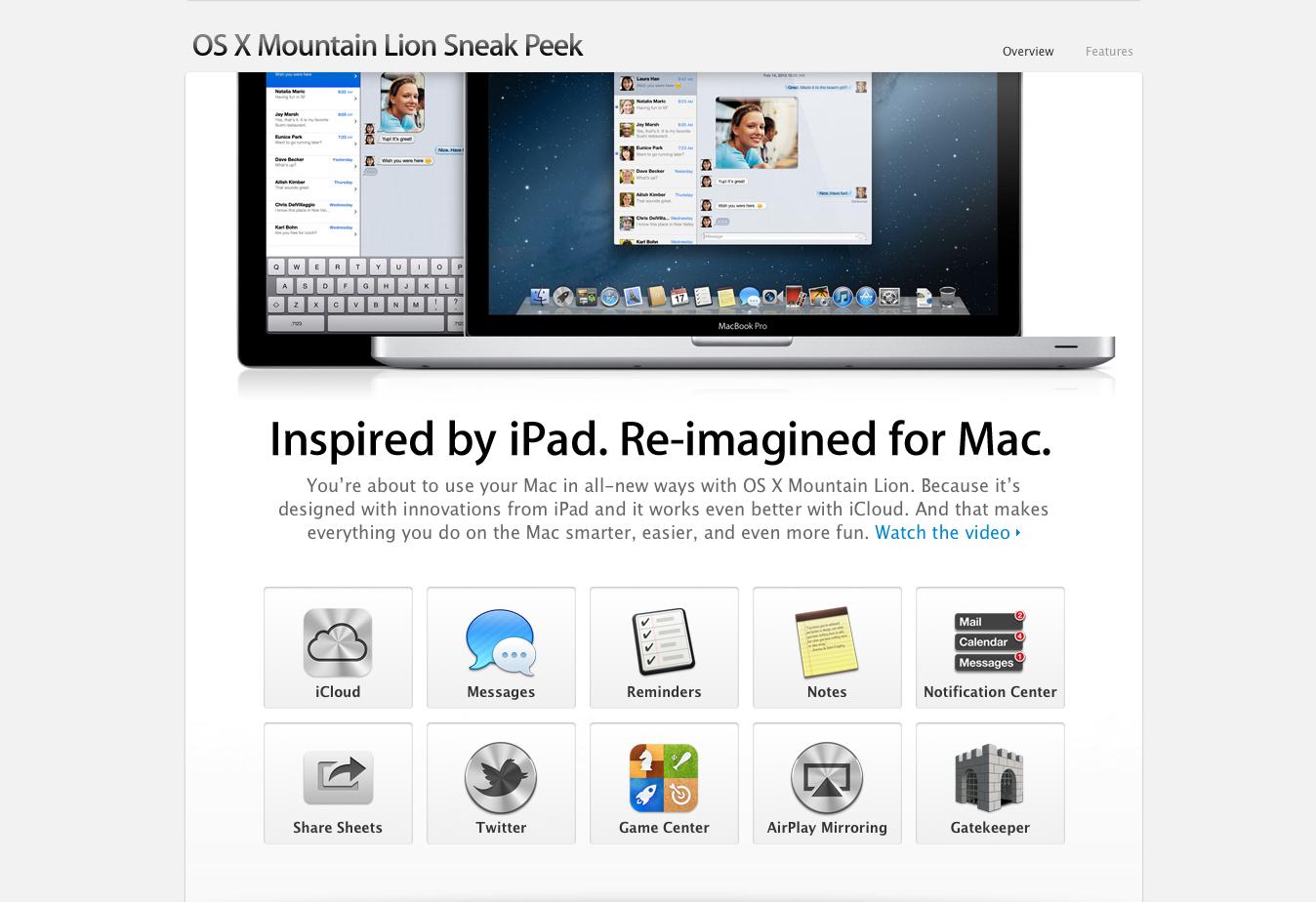 AppAdvice Daily: OS X Mountain Lion Announced - Video Walkthrough