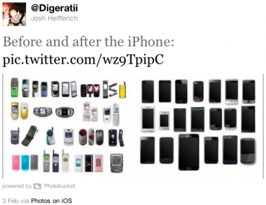 Clever Image Highlights Mobile Hardware Before, After iPhone