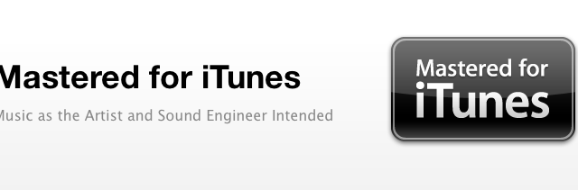 """Apple's """"Mastered"""" Project To Make iTunes Files Sound (A Little Bit) Better"""