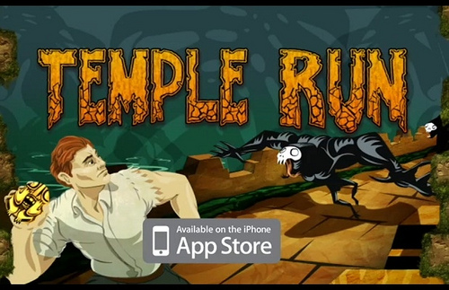 Temple Run Reaches 36 Million Downloads ... Without Tripping