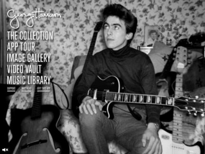 George Harrison's Famous Guitars Take The Spotlight