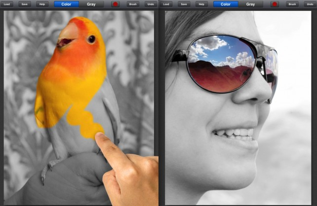 Color Splash for iPad Gets An Update - Brings Deeper Facebook Integration And More