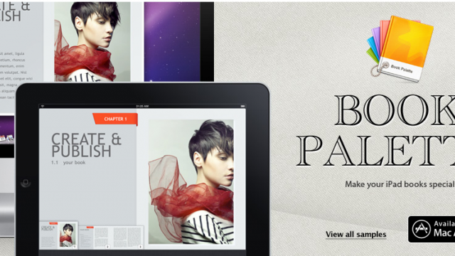 Book Palette Adds 10 New Templates To iBooks Author
