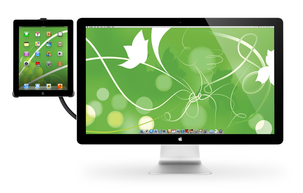 Hoverbar Lets You Mount Your iPad To Your Apple Display And Anything Else