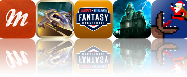 iOS Apps Gone Free: Meernotes, Protoxide: Death Race, ESPN Fantasy Basketball 2012, And More