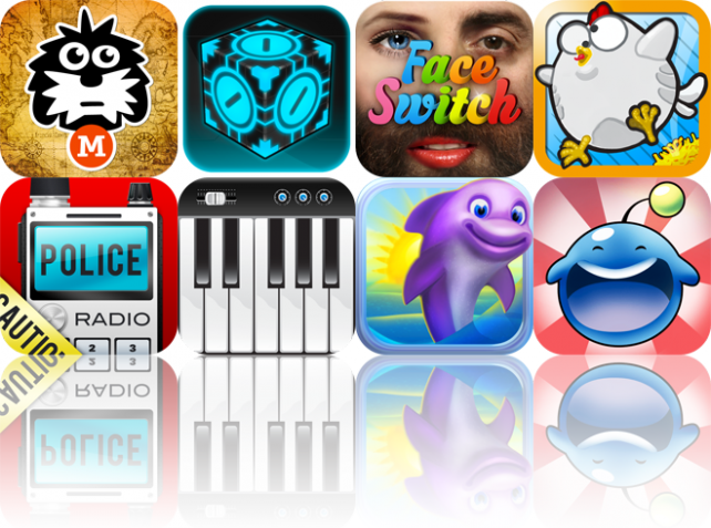 iOS Apps Gone Free: Millie & The Lost Key, Crazy Cubes, Face Switch, And More