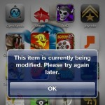 """This Item Is Currently Being Modified"" And The App Store's Growing Pains [Updated]"