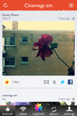 Create Awesome Animated GIFs On The Go With Cinemagram